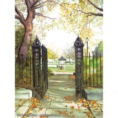 Gates to Falkner Square Liverpool