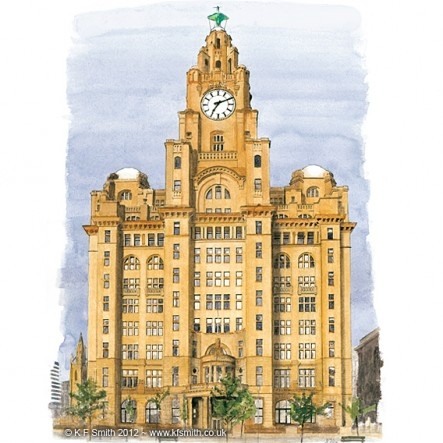 Royal Liver Buildings Liverpool